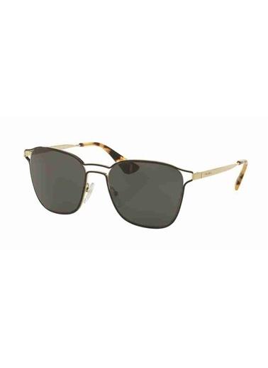 Prada Prada 54Ts 1Ab5S0 55 Ekartman Kadın Güneş Gözlüğü Altın
